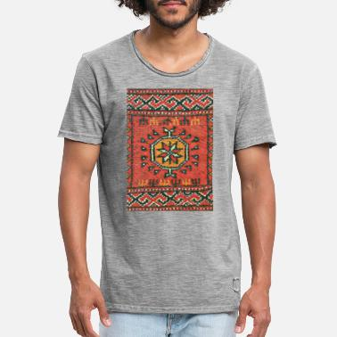 Central Asia Turkmen rang - Men's Vintage T-Shirt