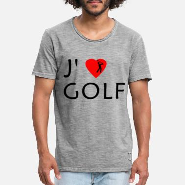 Golf Field golf - Men's Vintage T-Shirt