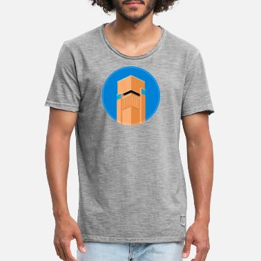 Town Hall Hilversum Town Hall - Men's Vintage T-Shirt