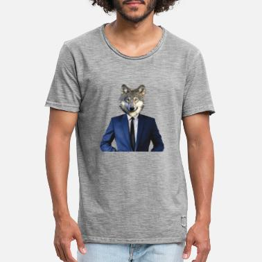 Occupy Wall Street Wolf of Wall Street - Men's Vintage T-Shirt