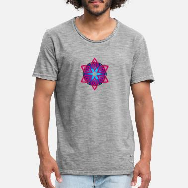 Abstract flower - Men's Vintage T-Shirt