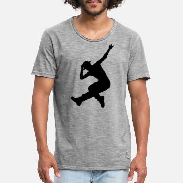 Danseuse Cadeau de danse de rue hip hop dance break dance - T-shirt vintage Homme