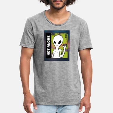 Alicja alien t shirt design maker featuring a smiling ali - Men's Vintage T-Shirt