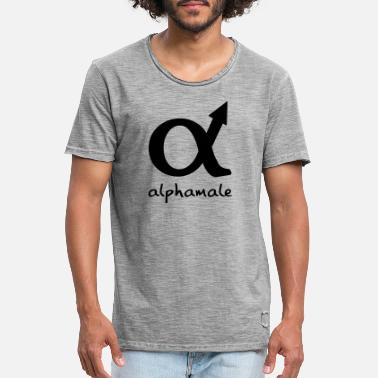 Wisdom alphamale - Men's Vintage T-Shirt