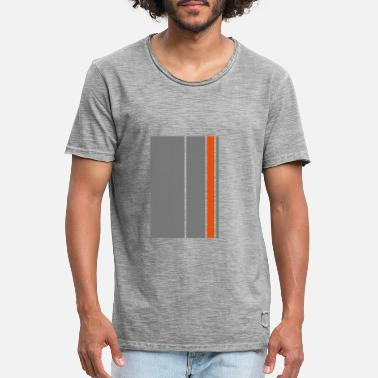 Stripe Stripes - Men's Vintage T-Shirt