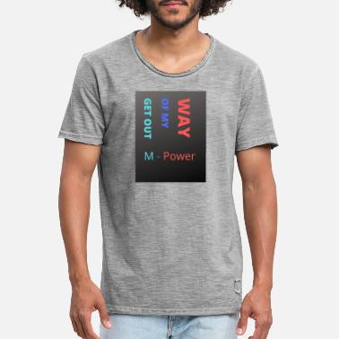 M - Power - Men's Vintage T-Shirt