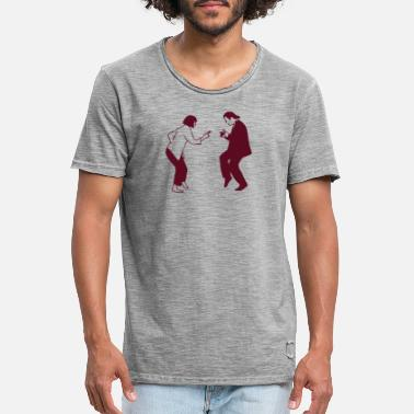 Fiction pulp fiction dancing pf06 - Männer Vintage T-Shirt