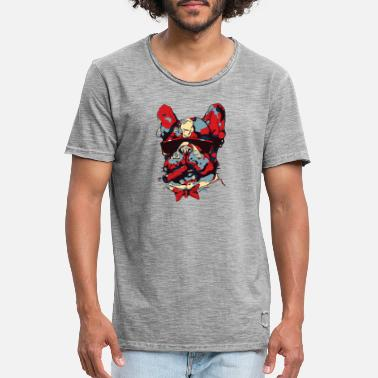 cool Frenchie - Men's Vintage T-Shirt
