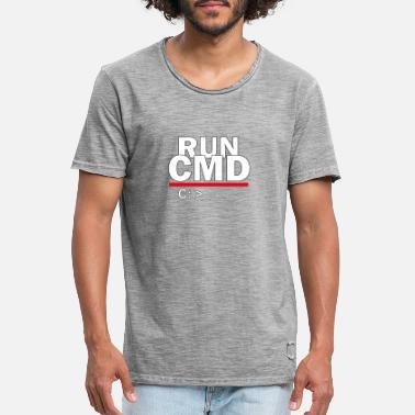 run CMD - Men's Vintage T-Shirt
