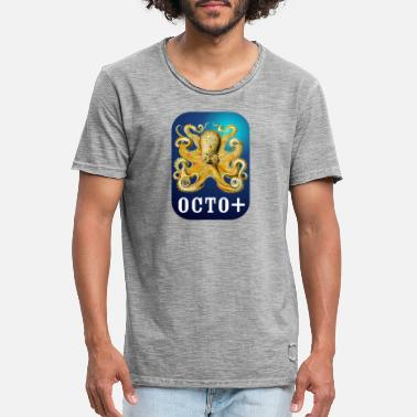 octo - T-shirt vintage Homme