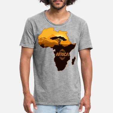 Continent Africa continent - Men's Vintage T-Shirt