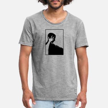 ILLUSTRATION D'HORREUR HALLOWEEN - T-shirt vintage Homme