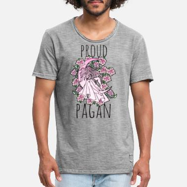 Pagan Pride Proud Pagan - Men's Vintage T-Shirt