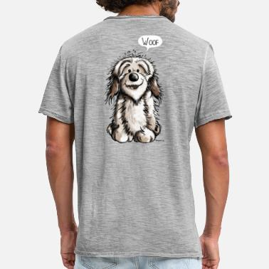 Caricature Funny Havanese - Dog - Dogs - Comic - Men's Vintage T-Shirt