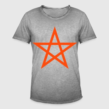 pentagram Wicca - Men's Vintage T-Shirt