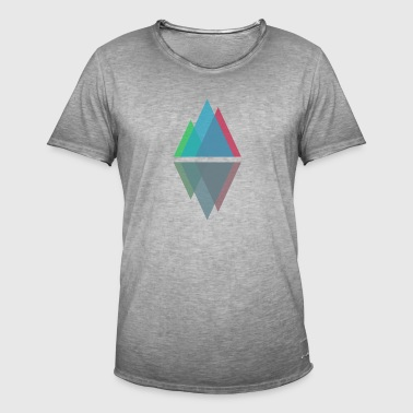 Minimal Mountains - Men's Vintage T-Shirt