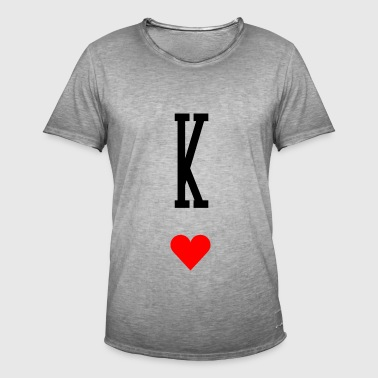 King of Hearts - T-shirt vintage Homme