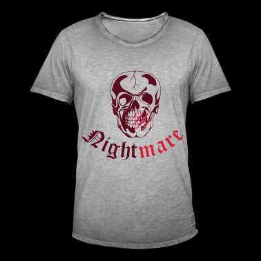 Nightmare vec - Men's Vintage T-Shirt