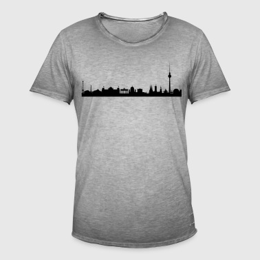 Berlin skyline - Men's Vintage T-Shirt