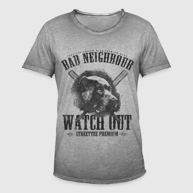 Bad Neighbour - Männer Vintage T-Shirt
