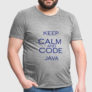 Code Java - Men's Vintage T-Shirt
