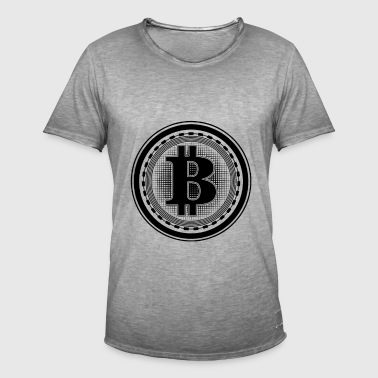 Bitcoin - T-shirt vintage Homme
