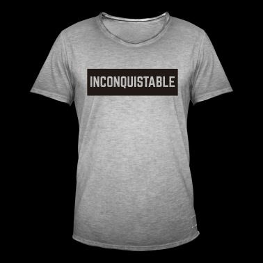 UNCONQUERABLE - Men's Vintage T-Shirt