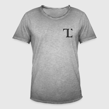Timeless Original Logo - Men's Vintage T-Shirt