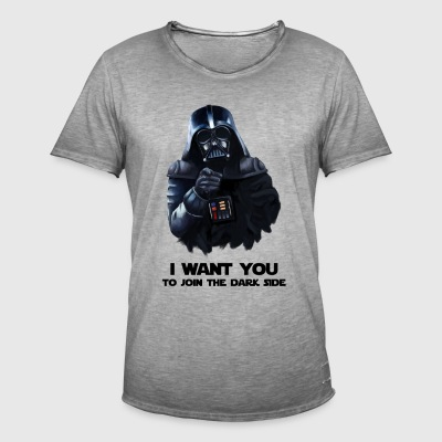 Darth Vader - Vintage-T-skjorte for menn