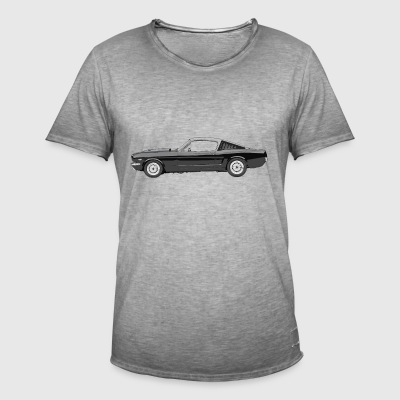 Muscle car - Vintage-T-shirt herr