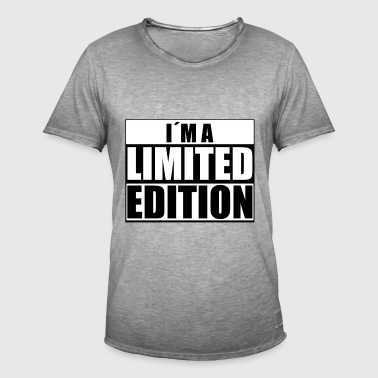 iam a limited edition - Men's Vintage T-Shirt