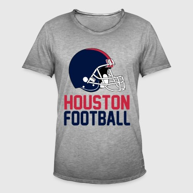 casque Houston - T-shirt vintage Homme