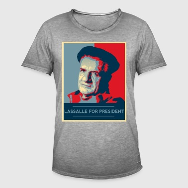 Lassalle-Obama For President - T-shirt vintage Homme