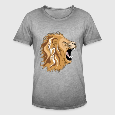 Lion - Men's Vintage T-Shirt