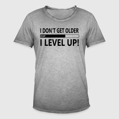 ++I LEVEL UP++ - Männer Vintage T-Shirt