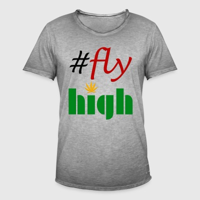 #flyhigh - Men's Vintage T-Shirt