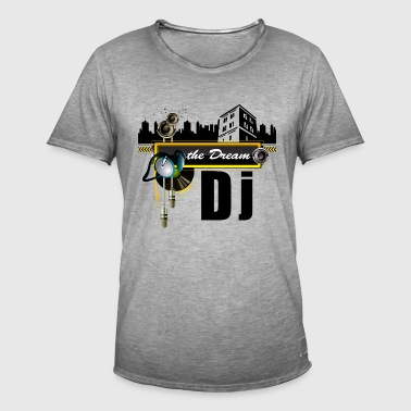 THE DREAM DJ - T-shirt vintage Homme