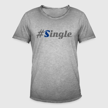 #Single - Herre vintage T-shirt