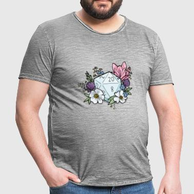 DUNGEONS 'n' FLOWERS - Men's Vintage T-Shirt