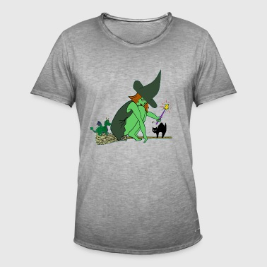 witch - Men's Vintage T-Shirt