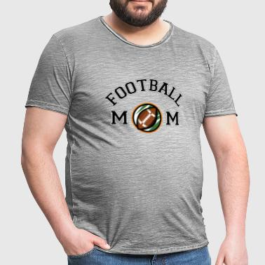 Football Mom - Männer Vintage T-Shirt
