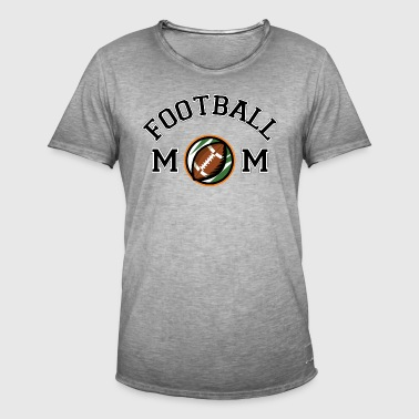 Football Mom - Mannen Vintage T-shirt