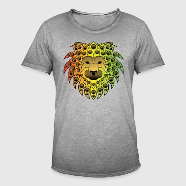 Ragga sound lion - Men's Vintage T-Shirt