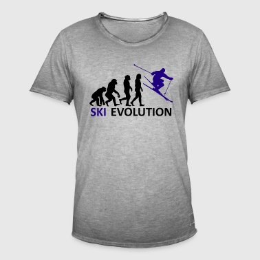++ ++ Ski Evolution - Men's Vintage T-Shirt