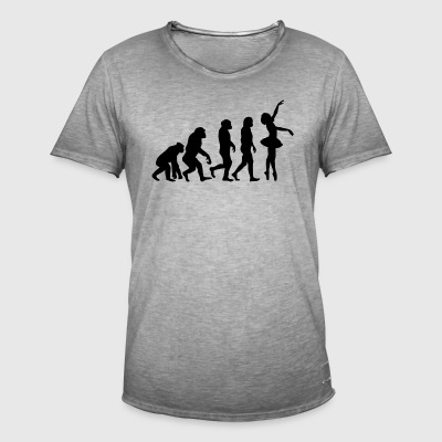 ++BALLETT EVOLUTION++ - Männer Vintage T-Shirt