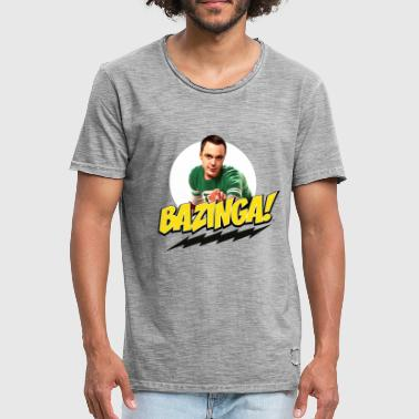 The Big Bang Theory Bazinga Thee shirt Femme - T-shirt vintage Homme