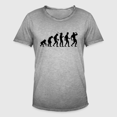 bodyvolution1 - Vintage-T-shirt herr