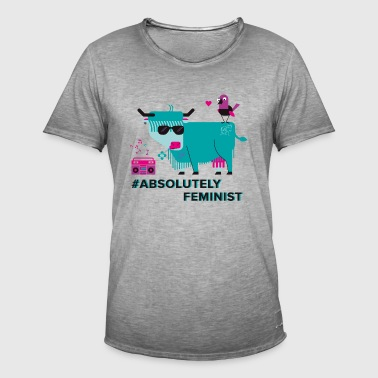 Absolument Feminist (m) - T-shirt vintage Homme