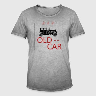 OLD CAR - Men's Vintage T-Shirt