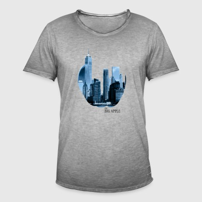 The Big Apple - Herre vintage T-shirt